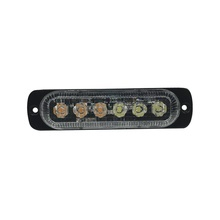1020adaw Ecco Luz Direccional Con 6 LEDS Color Ambar/claro