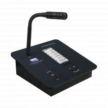 1211m Egi Audio Solution CONSOLA DE AVISOS MULTIZONA IP CON