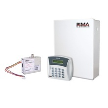 H6rxn400h Pima Kit De Alarma De 6 Zonas Con Teclado Alfanume