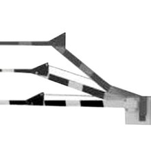 1601384 Dks Doorking Brazo De Madera Con Articulacion / Comp