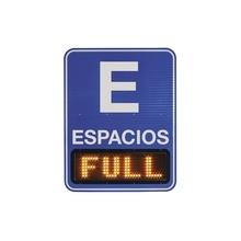 Osac Parking Logix Pantalla Para Sistema De Conteo De Espaci