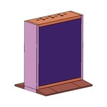 Dsdn55b3mb Hikvision Gabinete Pedestal Modular Para Videowal
