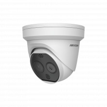 Ds2td1217b3pak Hikvision Turret IP Termica De Alta Precision