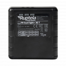 Eco4light3gt Ruptela Localizador Vehicular 3G / Sensores De