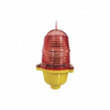 EILBIB Epcom Industrial Estrobo Led de Obstruccion Color Roj