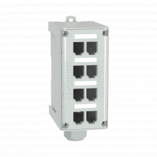 Fdme8rg Panduit Panel De Parcheo Modular Para Fibra Optica