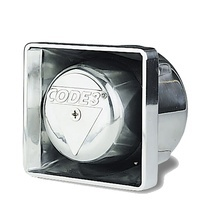 Fm100c Code 3 Altavoz Cromado De Montaje 100 Watts bocinas