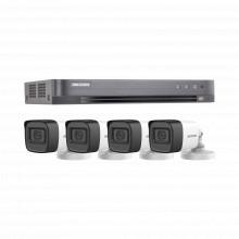 Hik5mpslqkit Hikvision KIT TURBOHD 5 Megapixel / DVR 4 Canal