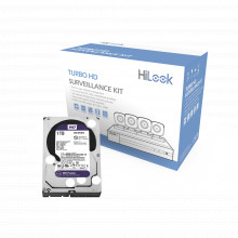 Hl24lqkitsm1tb Hilook By Hikvision KIT TurboHD 1080p / DVR 4
