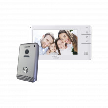 Kcvs701eb Kocom Videoportero A Color De 7 monitor Y Frente