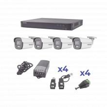 Kh1080p4bc Hikvision KIT COLORVU TURBOHD 1080p / DVR 4 Canal