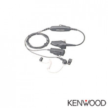 Khs11bl Kenwood Microfono Con Audifono 2 Cables Color Negro