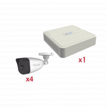 Kip2mp4b Hilook By Hikvision KIT IP 1080p / NVR De 4 Canales