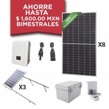 Kitepcom3k450 Syscom Kit Solar Para Interconexion De 3 KW De