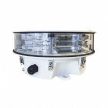 LONESTAR24VDC Twr Lampara de Obstruccion LED Dual Rojo/Blanc