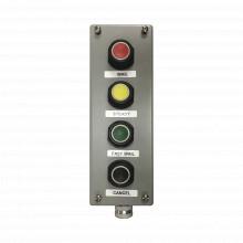 Pbs4 Federal Signal Industrial Botonera Cuadruple De Uso Rud