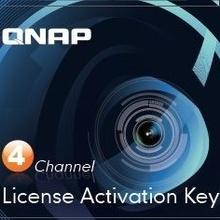 QNV183001 QNAP QNAP LICCAMNVR4CH - PACK De licencias de cam