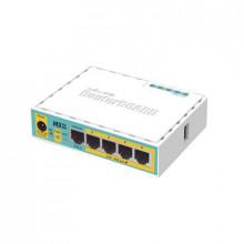 Rb750upr2 Mikrotik hEX PoE LITE RouterBoard 5 Puertos Fas