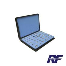 Rfa4010 Rf Industriesltd Kit Maestro De 34 Adaptadores Coax