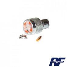 Rfn10041sx Rf Industriesltd Conector N Macho De Rosca Para