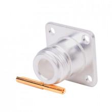 Rfn10211 Rf Industriesltd Conector N Hembra Montaje Con 4