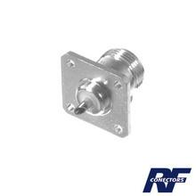 Rfn10212 Rf Industriesltd Conector N Hembra Montaje Chasis
