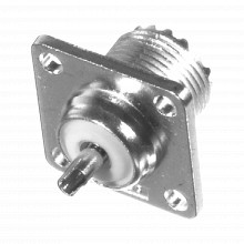 Rfu521wbt Rf Industriesltd Conector UHF Hembra SO-239 Par