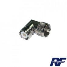 Rfu532 Rf Industriesltd Adaptador En Angulo Recto De Conec