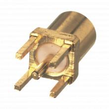 Rmx93501 Rf Industriesltd Conector MMCX Hembra Para Montaje