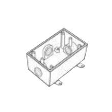 Rr2744 Rawelt Caja Condulet FS De 1 25.4 Mm Con Cuatro Bo
