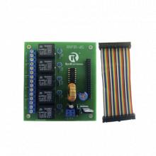 Rrpir05 Ruiz Electronics Tablilla Interfaz De 5 Relevadores