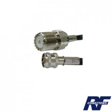 Skn9557 Syscom Cable Adaptador De Conector Mini UHF Macho A