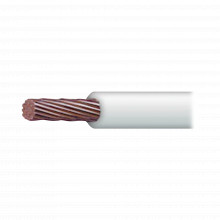 Sly328wht100 Indiana Cable 18 Awg Color Blanco Conductor De
