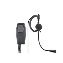 Spm411a Pryme Microfono Mini Boom Con Audifono. Para Radio