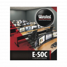 Sysb0010 Winsted Mueble De Monitoreo E-SOC Para 23 Operadore