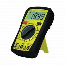 Sysmul02 Surtek Multimetro Digital 600V Con Protector De Cau