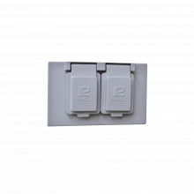 Tr0611 Rawelt Tapa Rectangular Duplex Horizontal Con Contrat