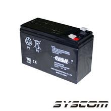 Wp712p Syscom Bateria De Respaldo A 12 Vcd / 7 Ah. Baterias