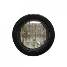 X3945A Ecco Luz direccional LED Ambar circular con montaje d
