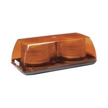 X5350a Ecco Mini Barra De Luces Estroboscopica Color Ambar