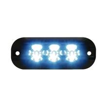 Xtp3b Code 3 Luz Perimetral De 3 LEDS Color Azul azul