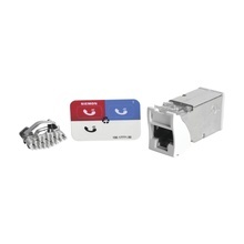 Z6as02 Siemon Jack Z-MAX Cat6A Blindado Montaje Hibrido En
