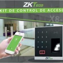 ZAS061008 Zkteco ZKTECO X8BT - Kit para Control de Acceso u