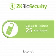 Zkbshotel25 Zkteco Licencia Para ZKBiosecurity Para Modulo D