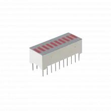 10801184nd Syscom Barra Grafica De 10 Segmentos LED Rojos Ti