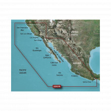 10c072220 Garmin Mapa HXUS021R California - Mexico. sistema