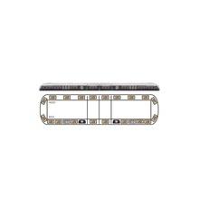 Vtg60a Ecco Torreta ambar De 60 Vantage 20 LED 2 Luces De
