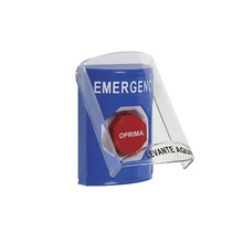 Ss24a2emes Sti Boton De Emergencia En Espanol Con Tapa Prot
