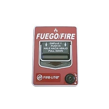 Bg12lxsp Fire-lite Estacion Manual De Emergencia Doble Acci