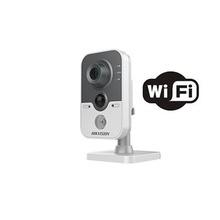 Ds2cd2410fiw Hikvision Cubo IP 1 Megapixel / WIFI / 10 Mts I